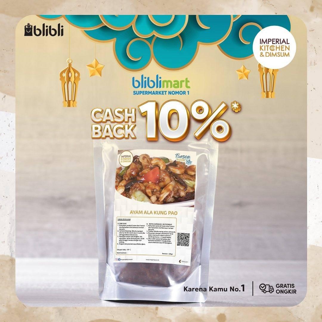 Promo diskon Imperial Kitchen Berkah Ramadhan Diskon 10% Di Blibli