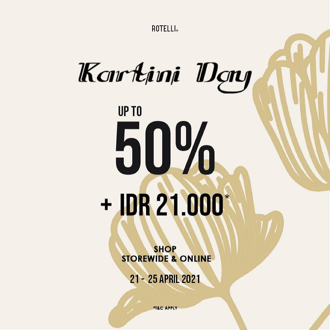 Diskon Rotelli Discount Up To 50% Off + Cashback Rp. 21.000