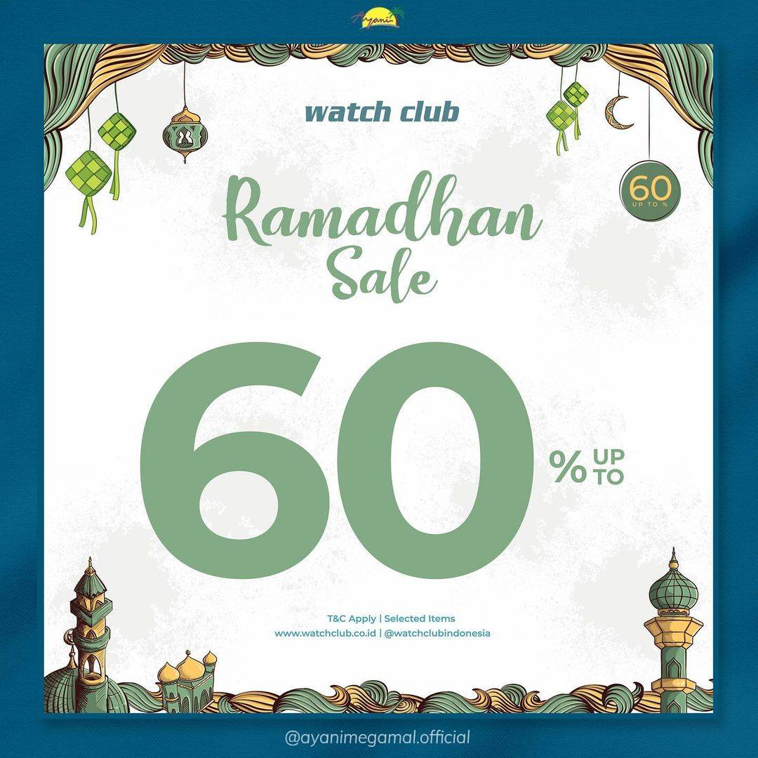 Diskon Watch Club Discount Up To 60% Off