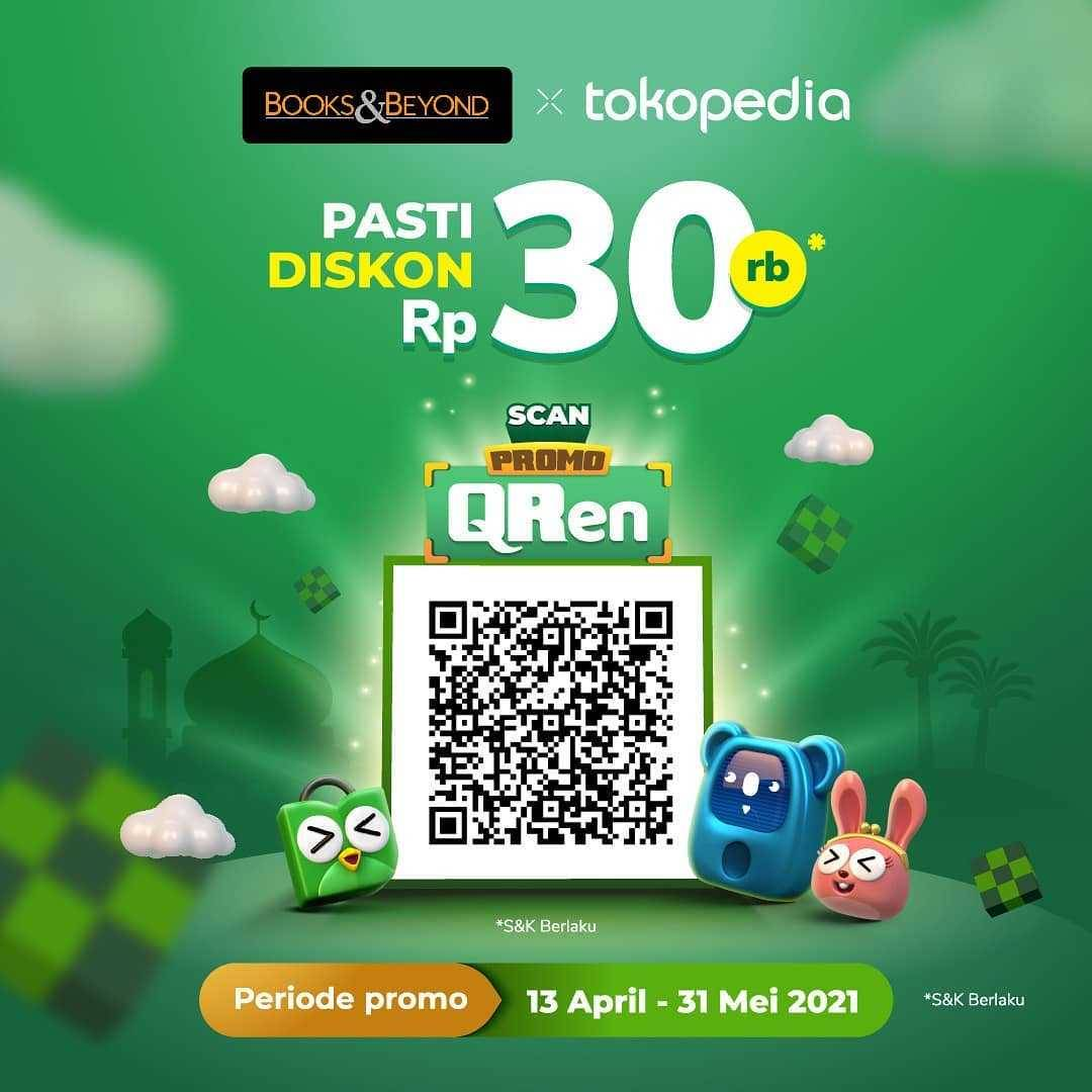Diskon Books & Beyond Pasti Diskon Rp. 30.000 Di Tokopedia