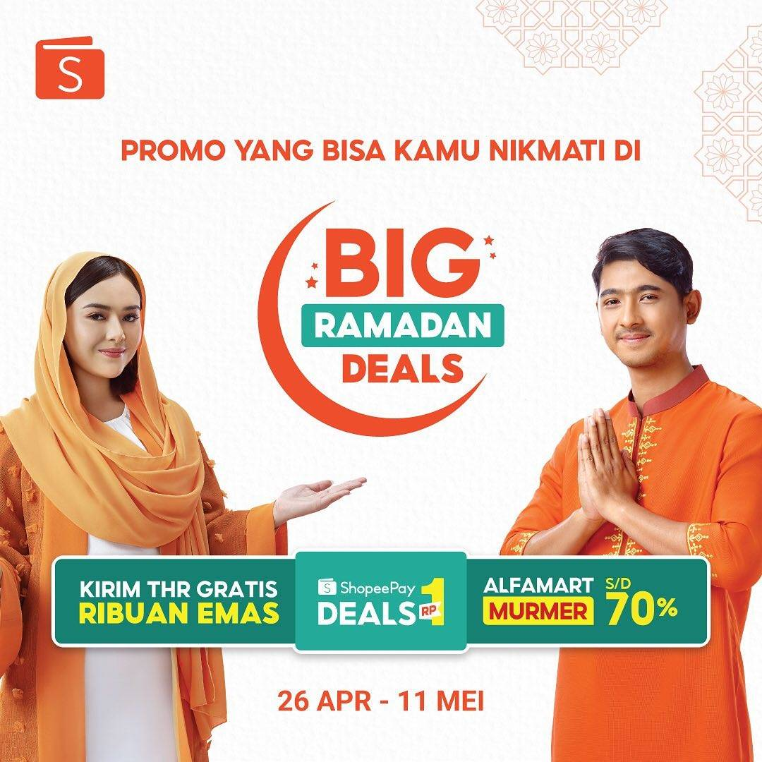 Diskon Shopee Promo Big Ramadan Deals