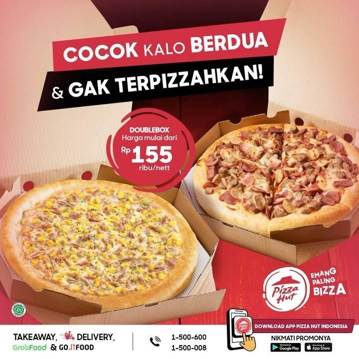 Diskon Pizza Hut Promo Double Box Harga Mulai Dari Rp. 155.000