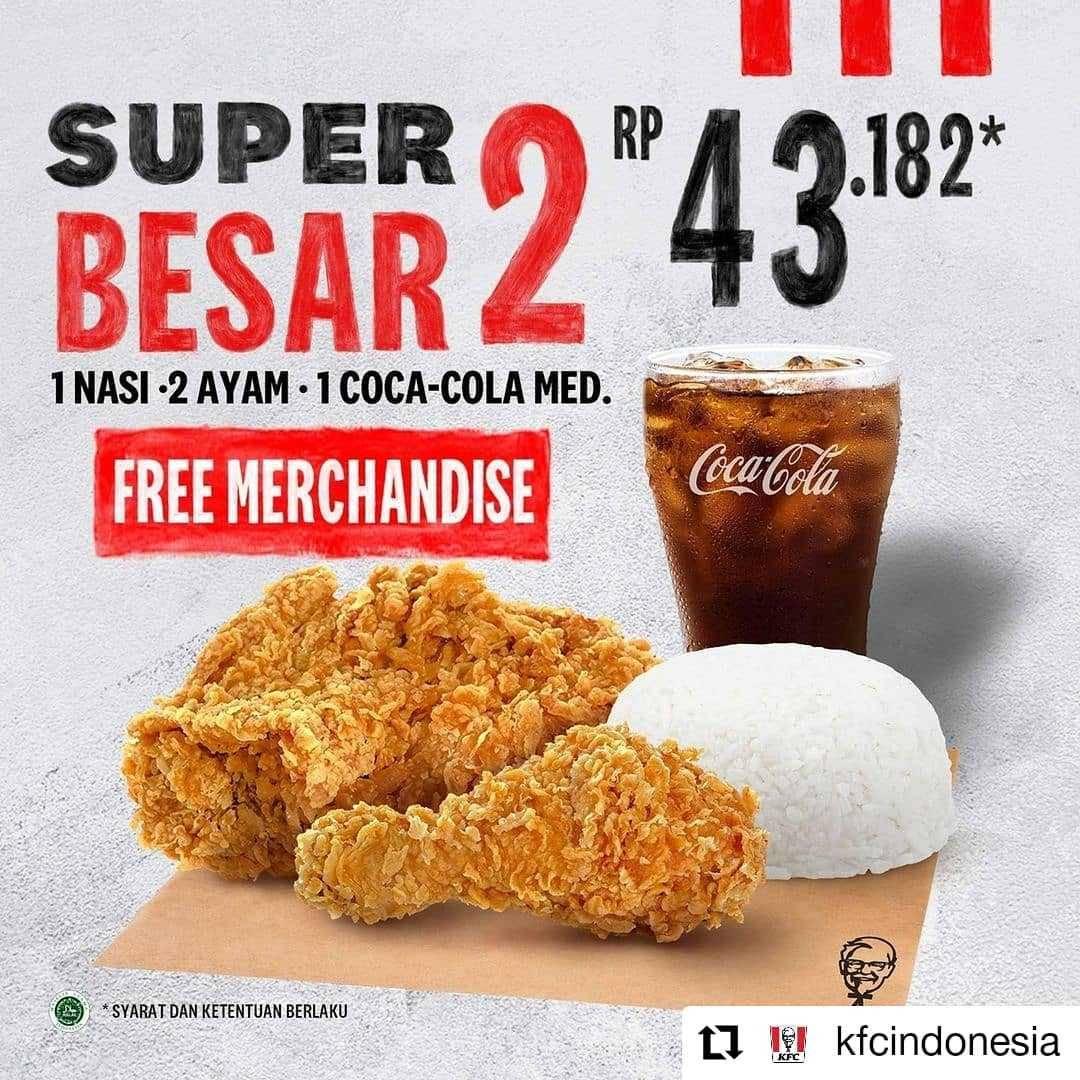 Diskon KFC Promo Makan Bareng 5 Ayam + 3 Nasi Hanya Rp. 68Ribuan