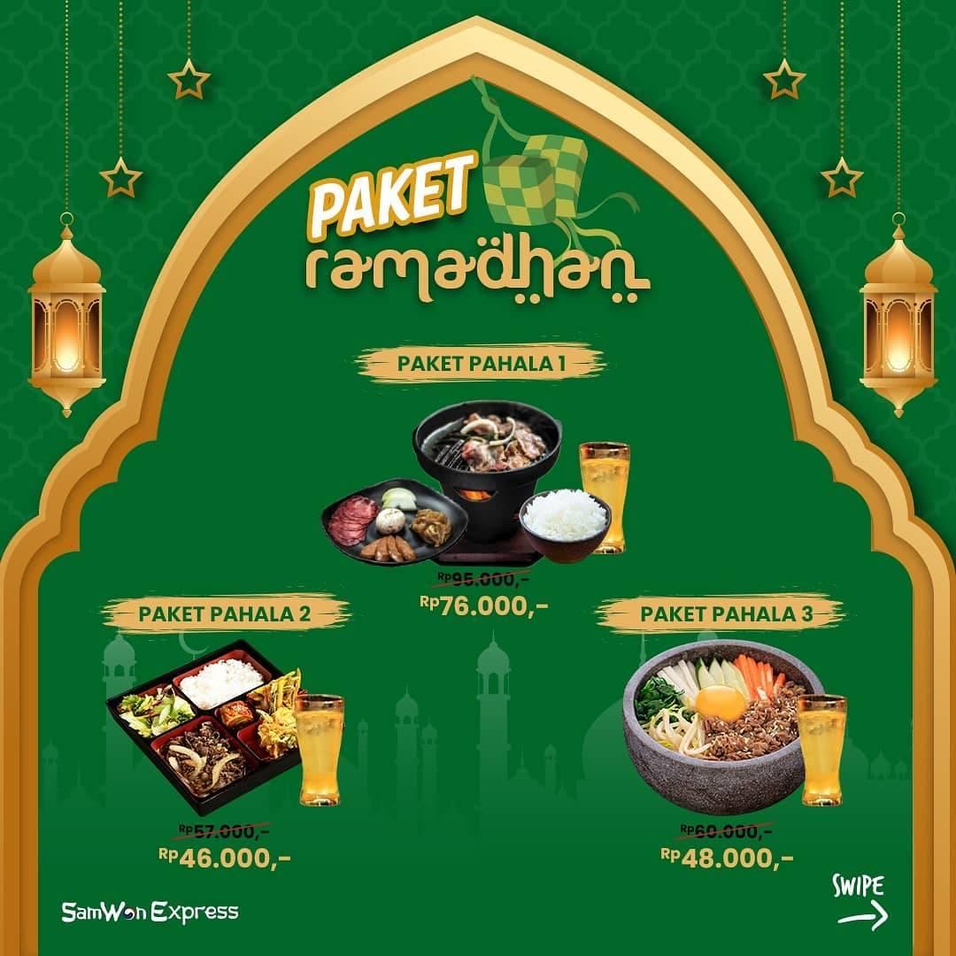 Diskon Samwon House Promo Paket Ramadhan Mulai Dari Rp. 46.000