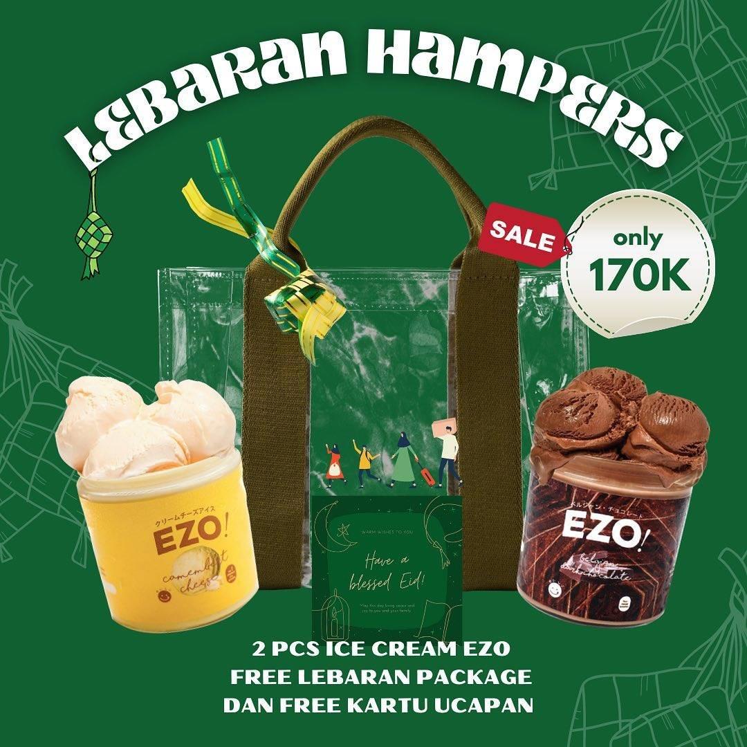 Diskon Ezo Cheesecakes Promo Lebaran Hampers Hanya Rp. 170.000