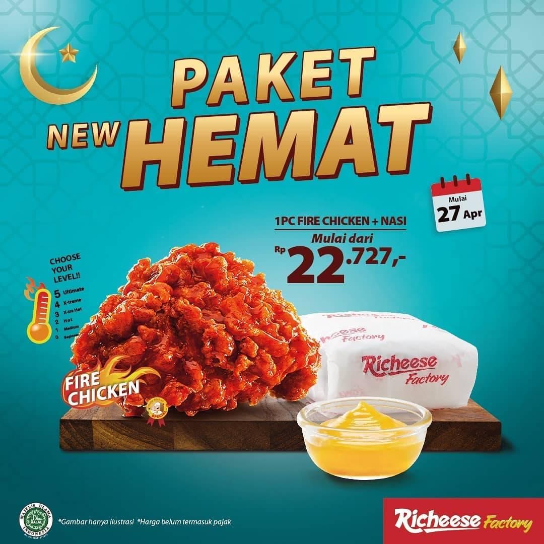 Diskon Richeese Factory Promo New Paket Hemat Hanya Rp. 22.727