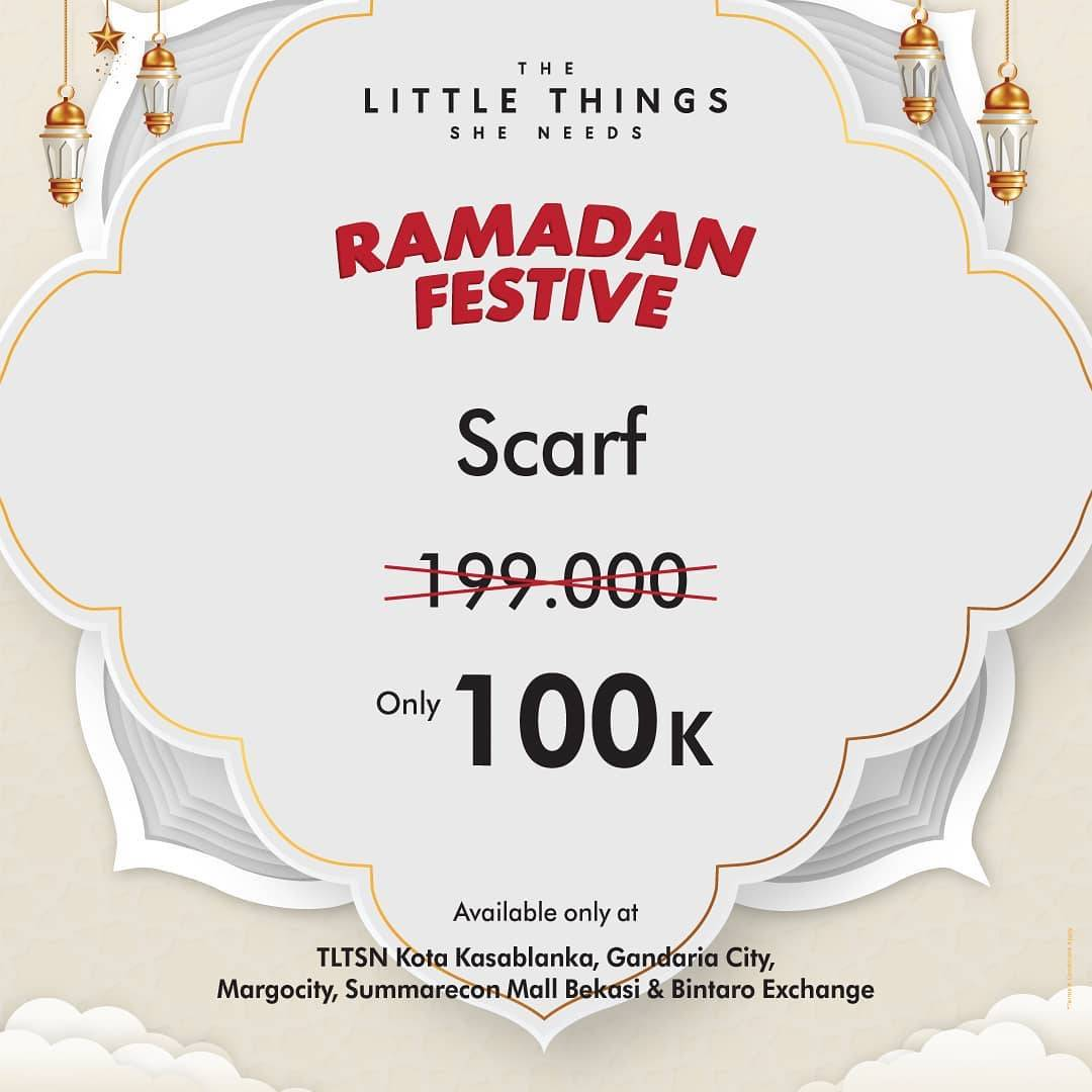 Diskon The Little Things She Needs Ramadan Festive Scraf Rp. 100.000