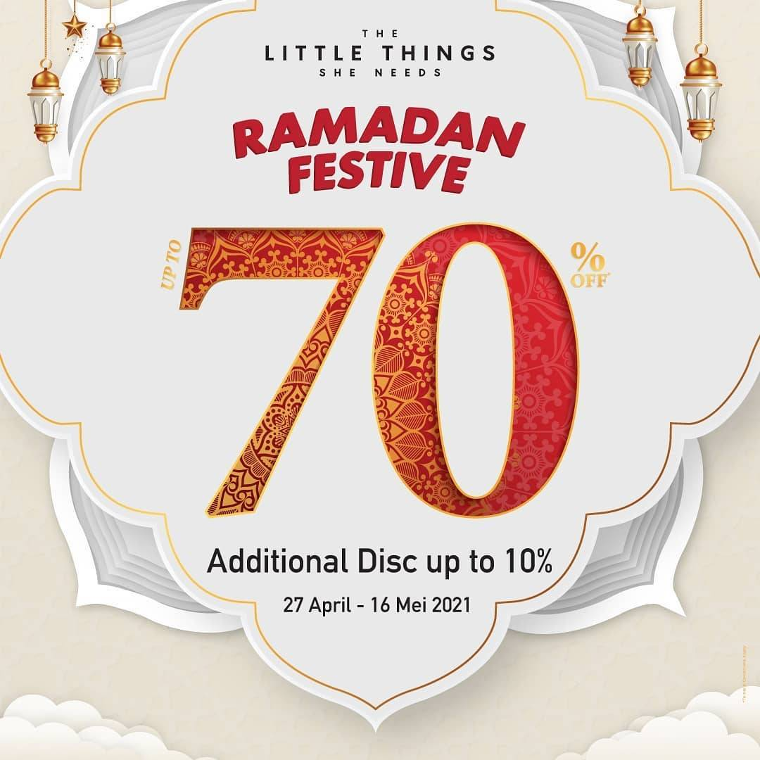 Diskon The Little Things She Needs Ramadan Festive Discount Up To 70% Off