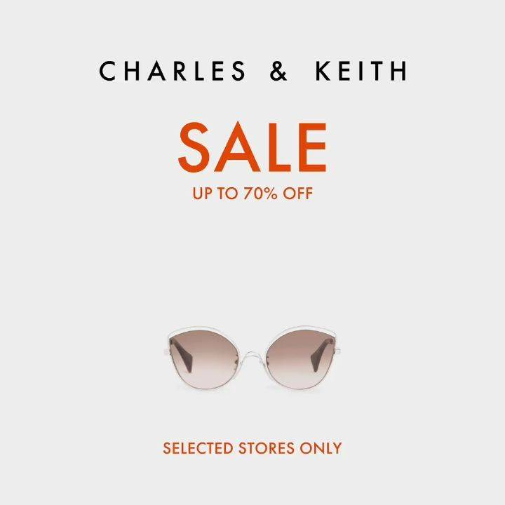 Diskon Charles & Keith Sale Up To 70% Off