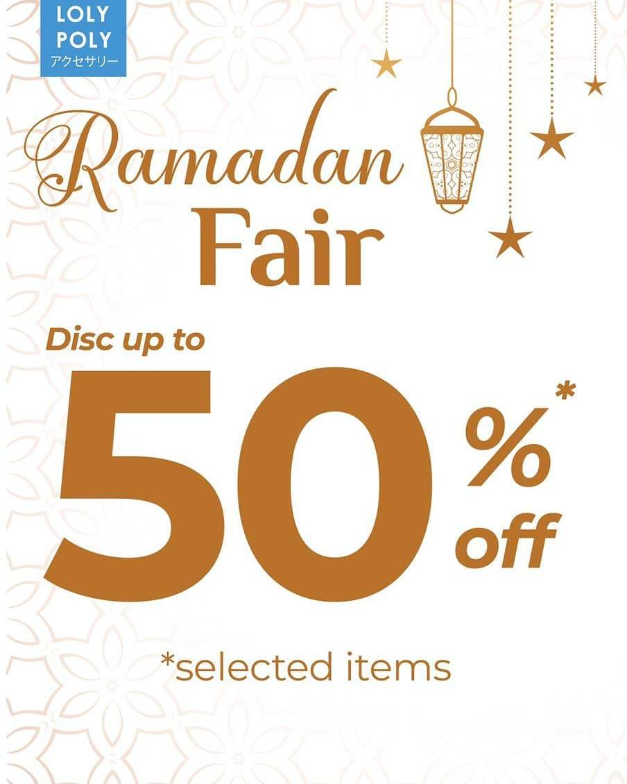 Diskon Loly Poly Ramadan Fair Discount Up To 50% Off