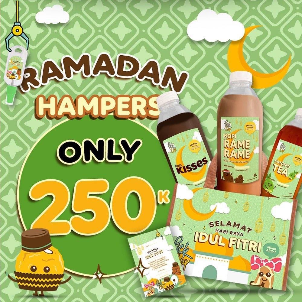 Diskon Pick Cup Promo Ramadan Hampers Hanya Rp. 250.000