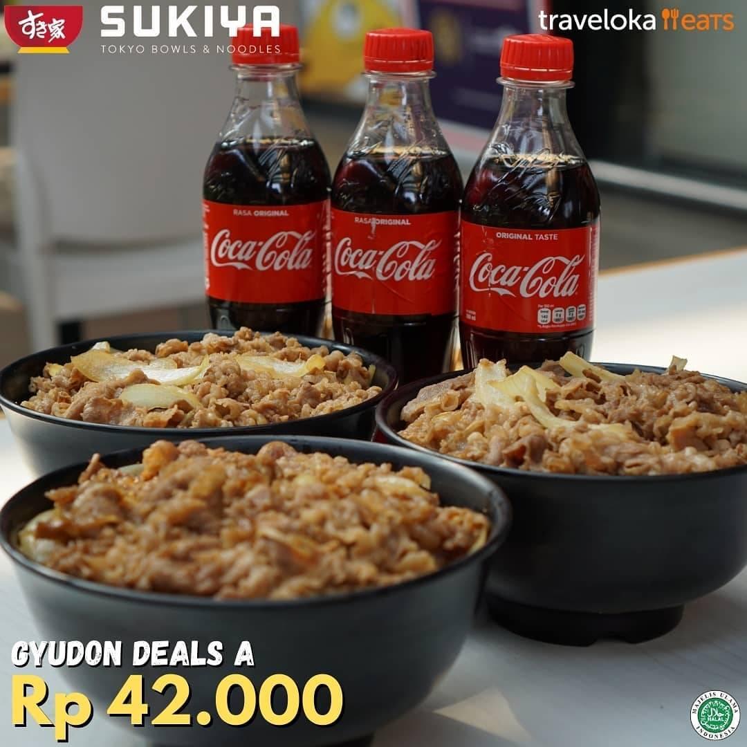Diskon Sukiya Promo Gyudon Deals A Hanya Rp. 42.000