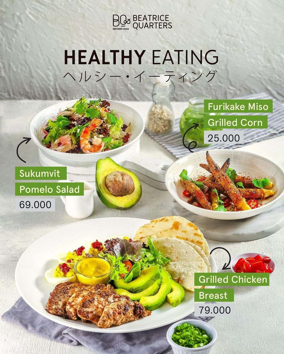 Diskon Beatrice Quarters Promo Healthy Eating Start From Rp. 25.000