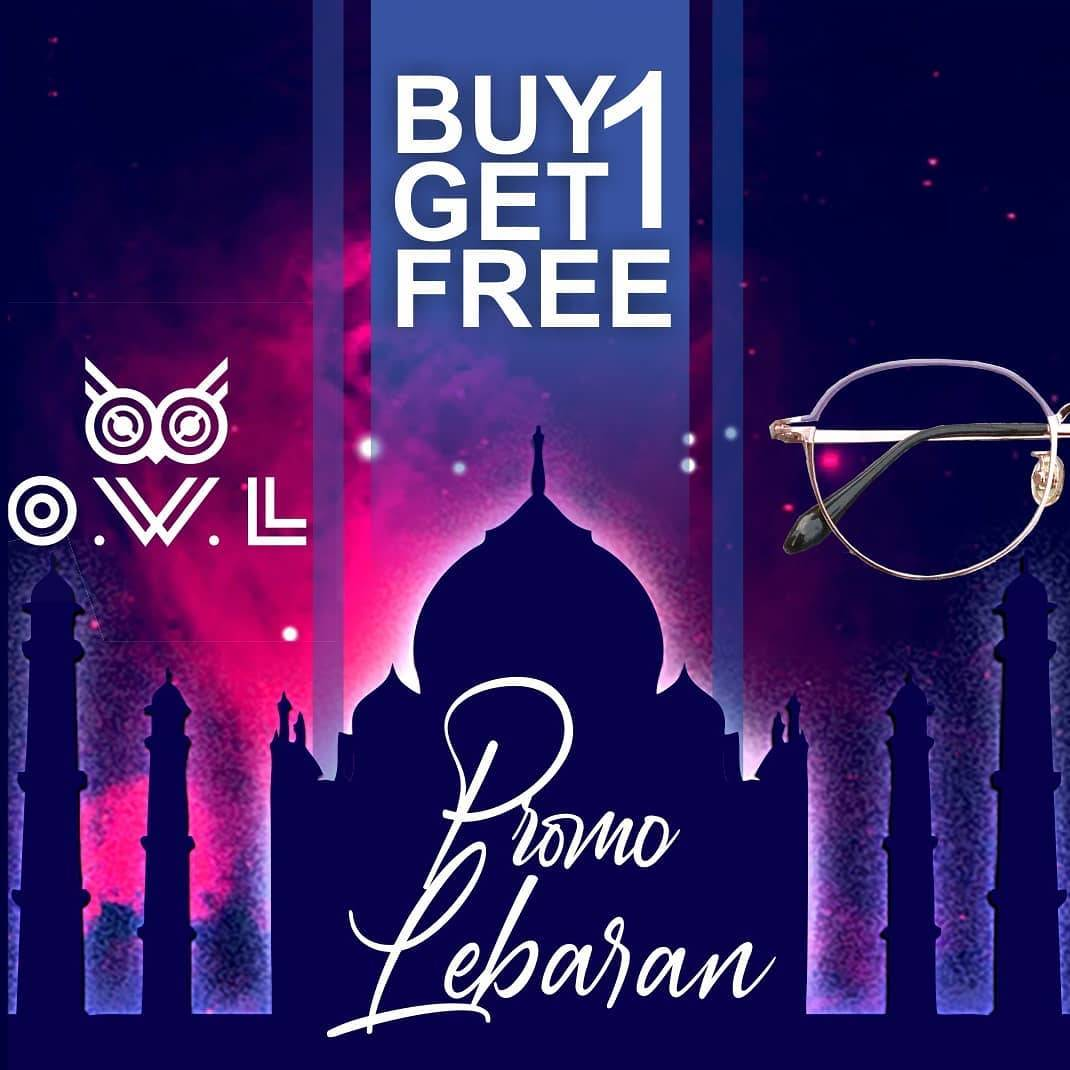 Diskon Owl Eyewear Buy 1 Get 1 Free