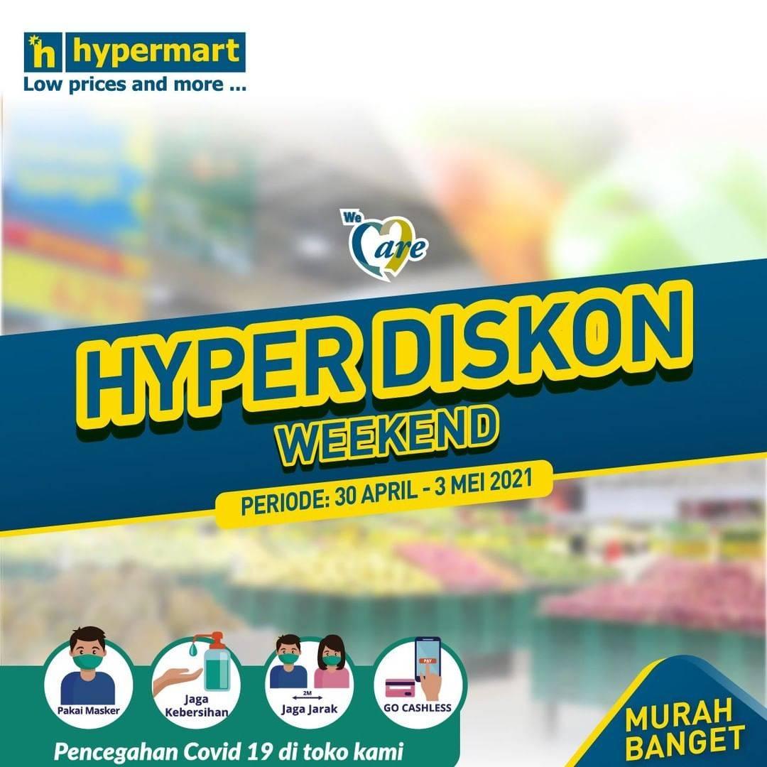 Diskon Katalog Promo Hypermart JSM Weekend Periode 30 April - 3 Mei 2021