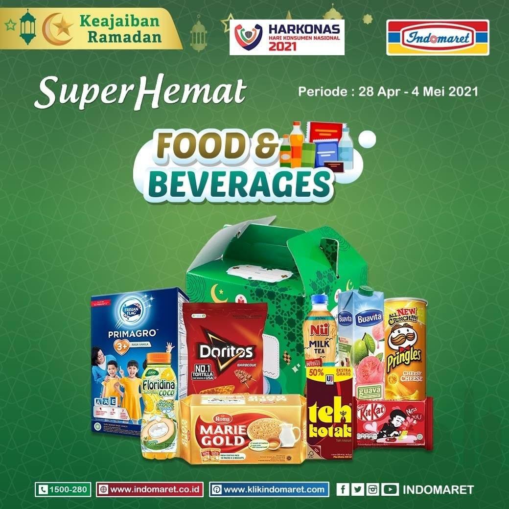 Diskon Katalog Promo Indomaret Super Hemat Terlengkap Periode 28 April - 4 Mei 2021