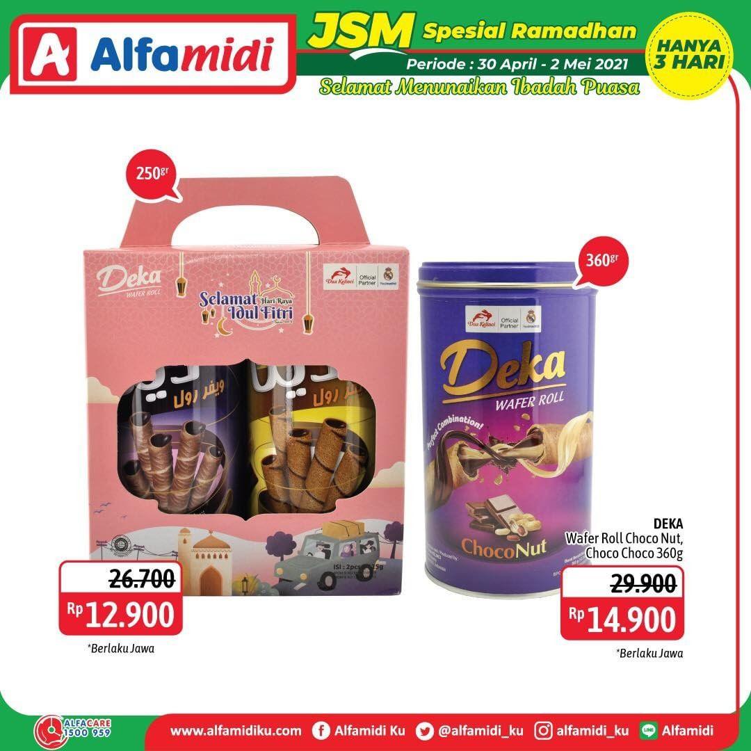 Promo diskon Katalog Promo Alfamidi JSM Terbaru Periode 30 April - 2 Mei 2021
