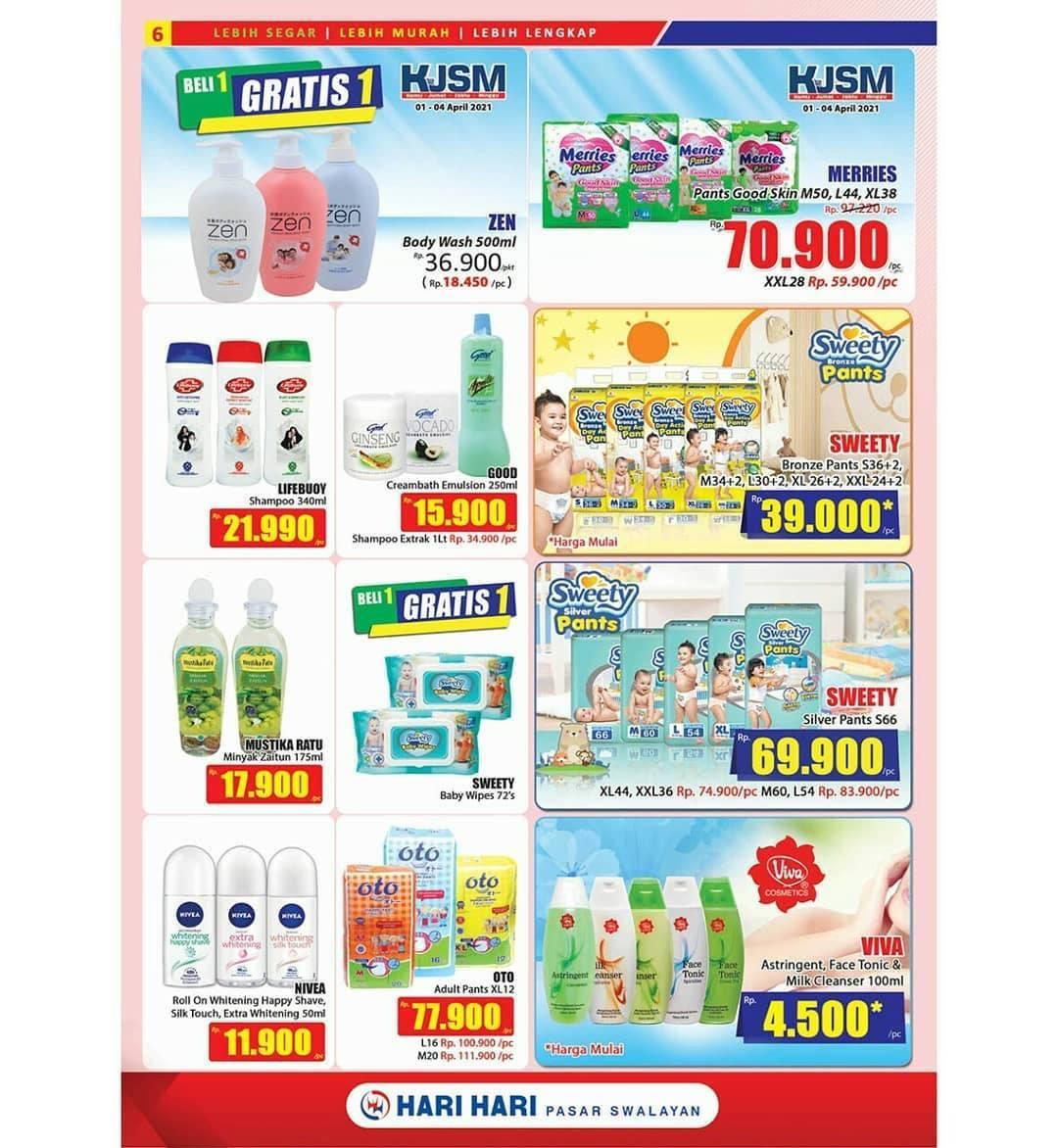 Promo diskon Katalog Promo Hari Hari Swalayan Promo PAS Periode 29 April - 5 Mei 2021