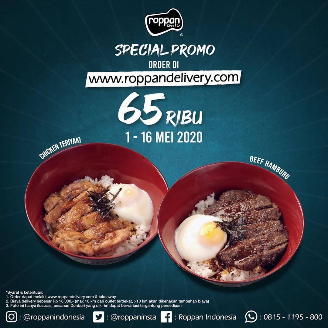 Diskon Roppan Promo Harga Spesial Menu Donburi Mulai Dari Rp. 65.000