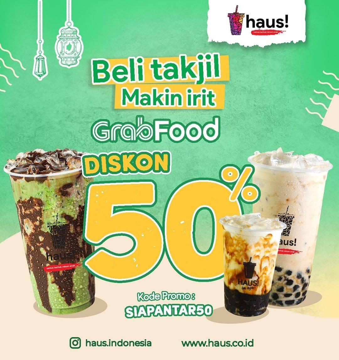 Diskon Haus! Indonesia Promo Beli Takjil Makin Irit Dengan Diskon 50% Untuk Pemesanan Melalui GrabFood