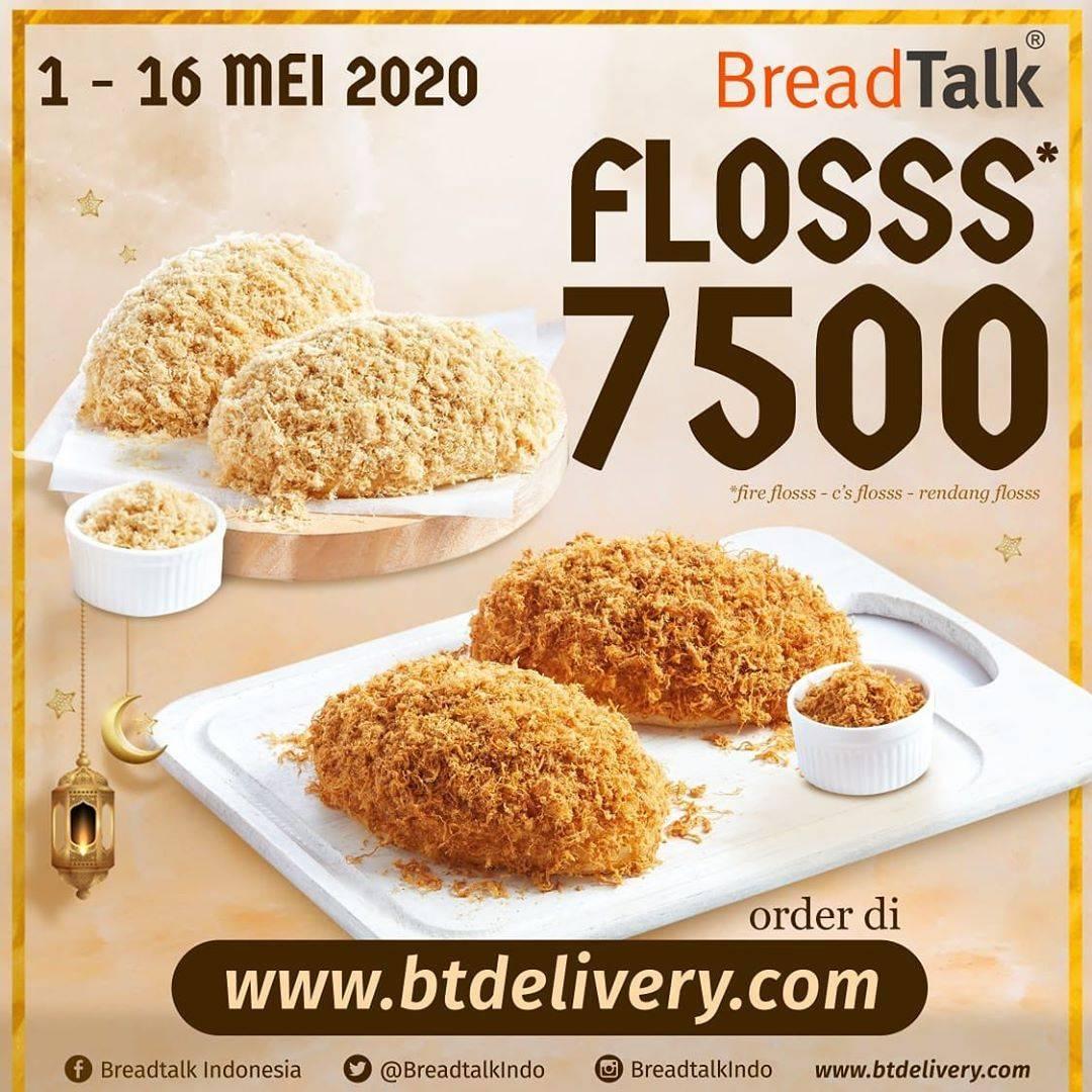 Diskon Breadtalk Promo Harga Spesial Semua Varian Floss Hanya Rp. 7.500