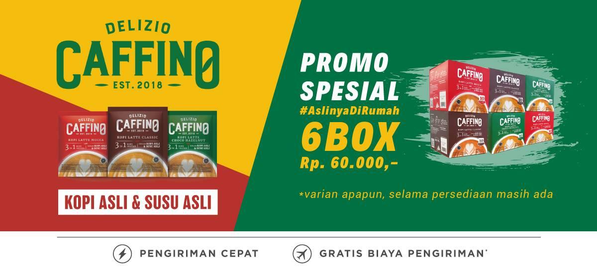 Diskon Blibli.com Promo Harga Spesial Caffino Coffee Latte Rp. 60.000/6 Box
