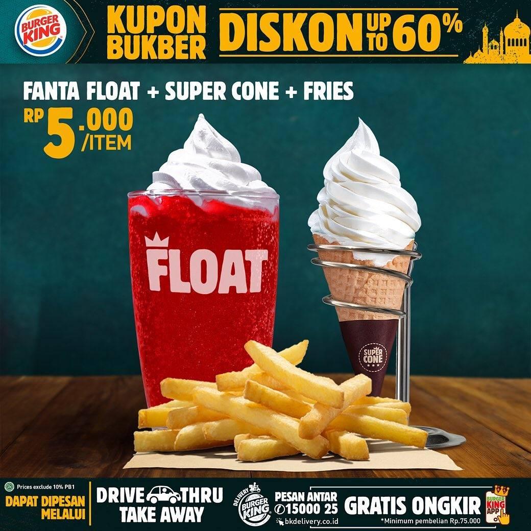 Burger King Promo Kupon Bukber, Dapatkan Diskon Hingga 60%
