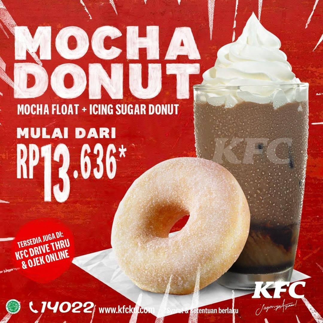 Diskon KFC Promo Mocha Donut Dengan Harga Mulai Dari Rp. 13.636