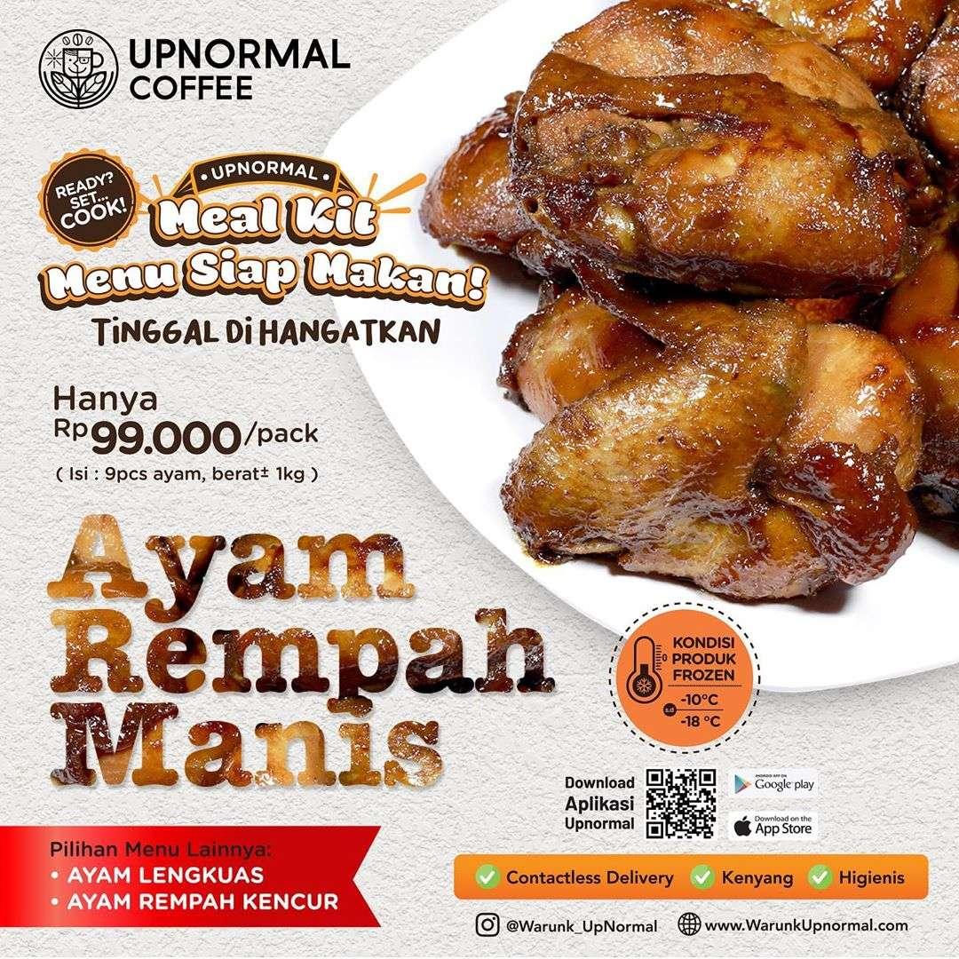 Diskon Warunk Upnormal Promo Meal Kit Dengan Harga Mulai Dari Rp. 99.000/Pack