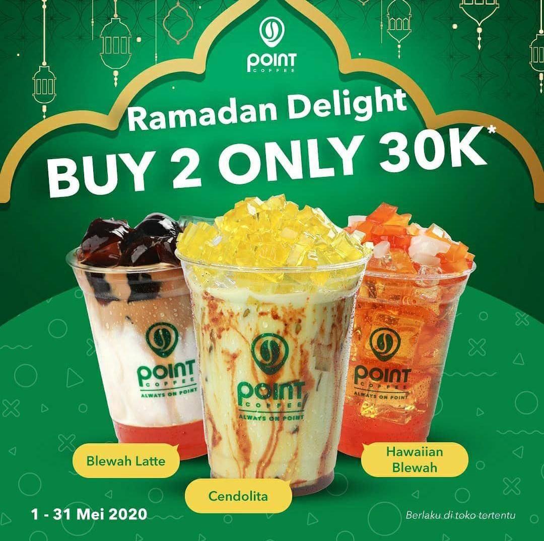 Diskon Indomaret Point Coffee Promo Ramadan Delight, Buy 2 Only Rp. 30.000 For Cendolita & Blewah Series
