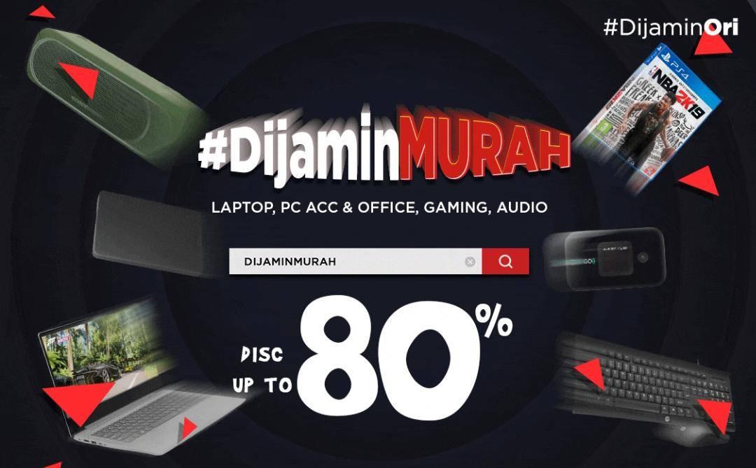 Diskon JD.ID Promo Dijamin Murah Dapatkan Diskon Hingga 80% Untuk Laptop & Aksesoris Komputer