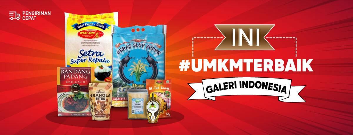 Diskon Blibli.com Promo UMKM Terbaik Dapatkan Kebutuhan Makanan Dengan Harga Mulai Dari Rp. 5Ribuan