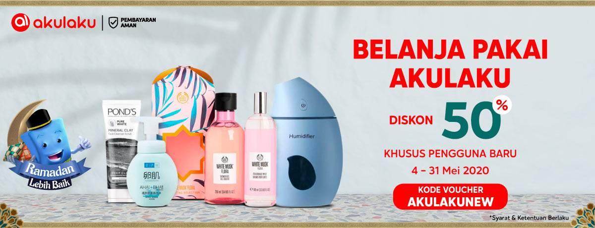 Diskon Blibli.com Promo Belanja Pakai Akulaku Dapatkan Diskon 50% Untuk Pengguna Baru