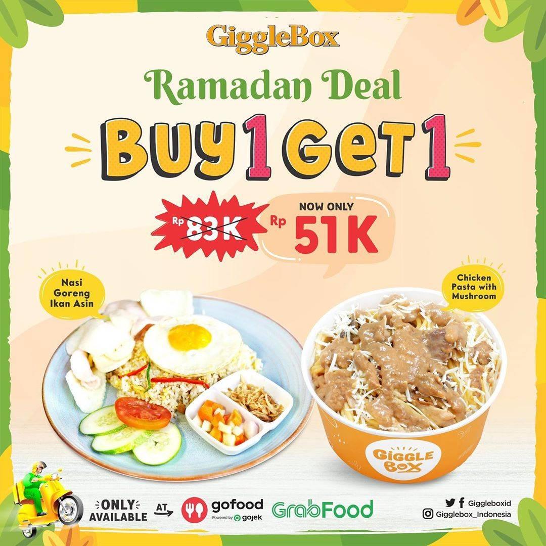Diskon Giggle Box Promo Ramadan Deal Buy 1 Get 1 Free