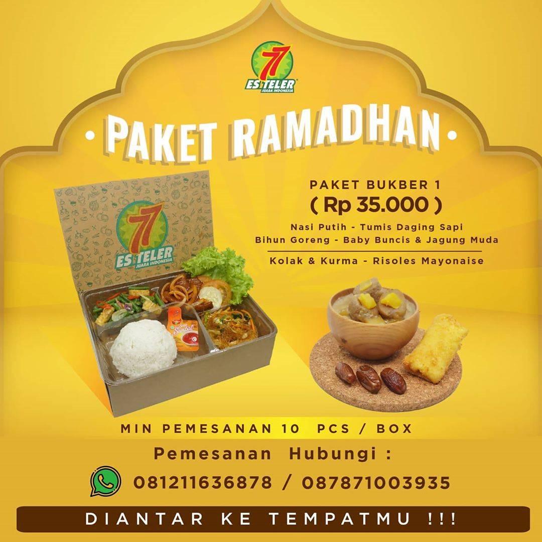 Diskon Es Teler 77 Promo Paket Ramadhan Catering Cuma Rp. 35.000/Box