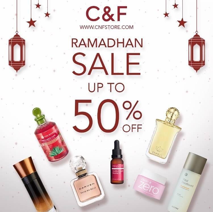 Diskon C&F Promo Ramadhan Sale Diskon 50%
