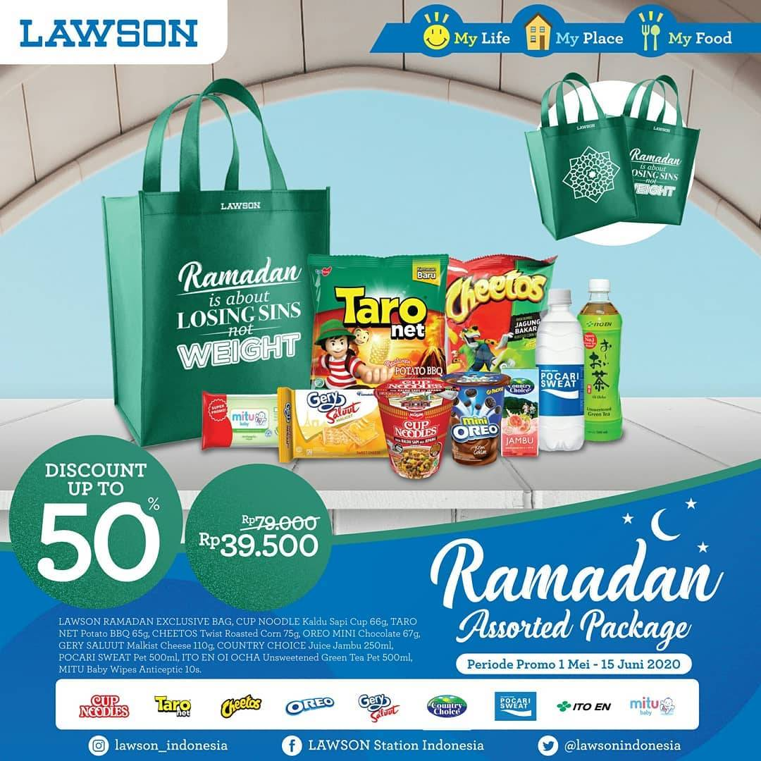 Diskon Lawson Promo Ramadhan Assorted Package Get Discount Up To 50% Off