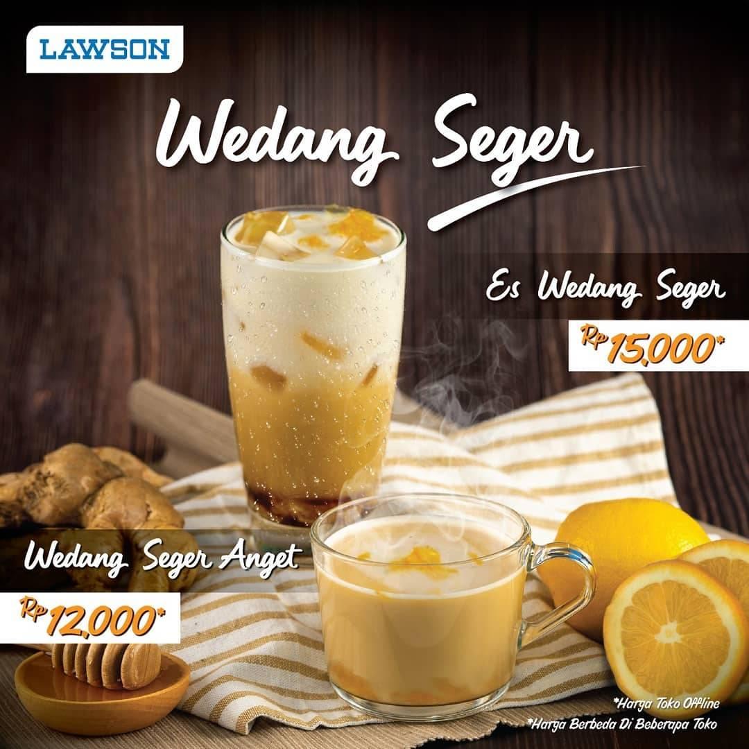 Diskon Lawson Promo Harga Spesial Minuman Wedang Seger Hanya Rp. 15.000