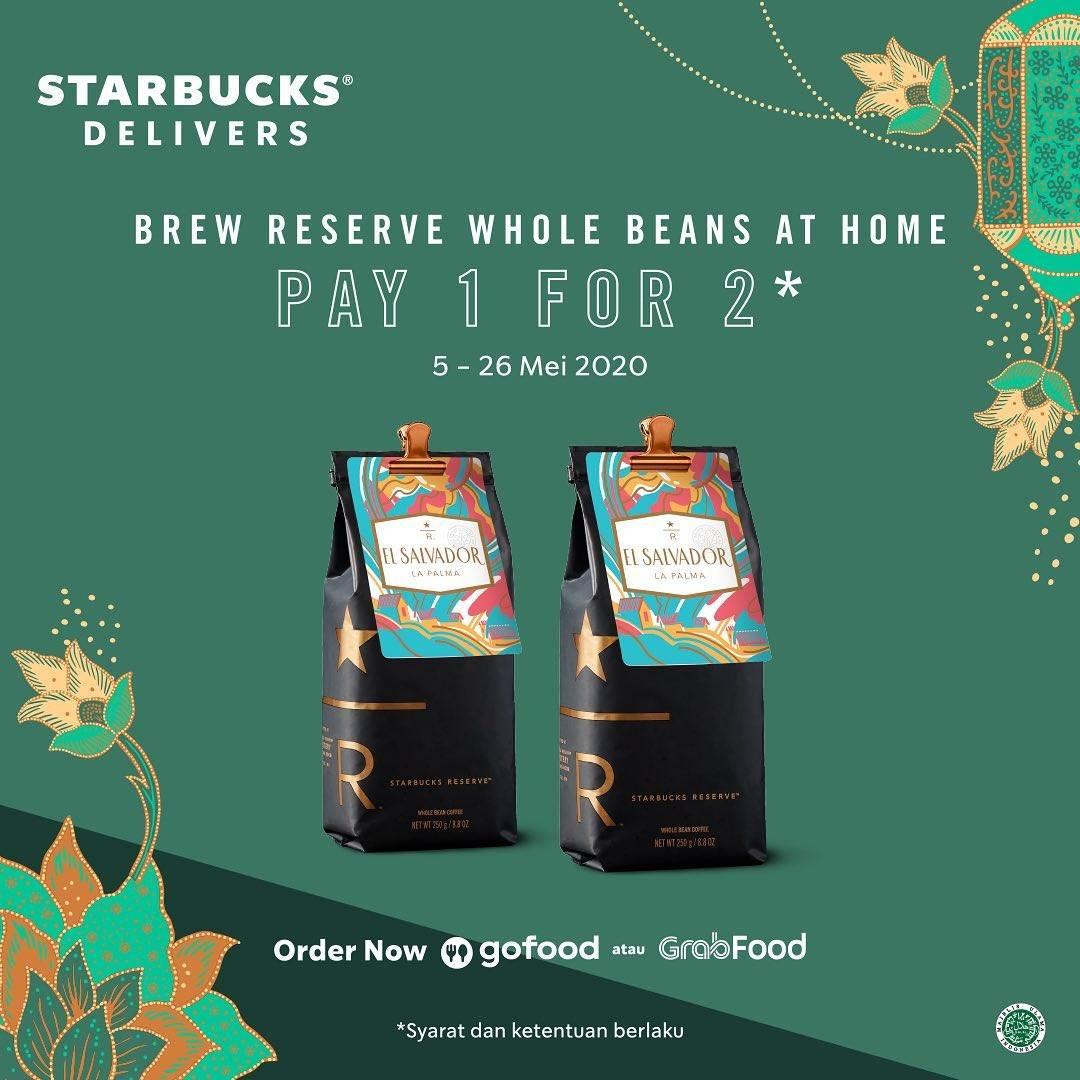 Diskon Starbucks Promo Pay 1 For 2 For Bag Whole Bean