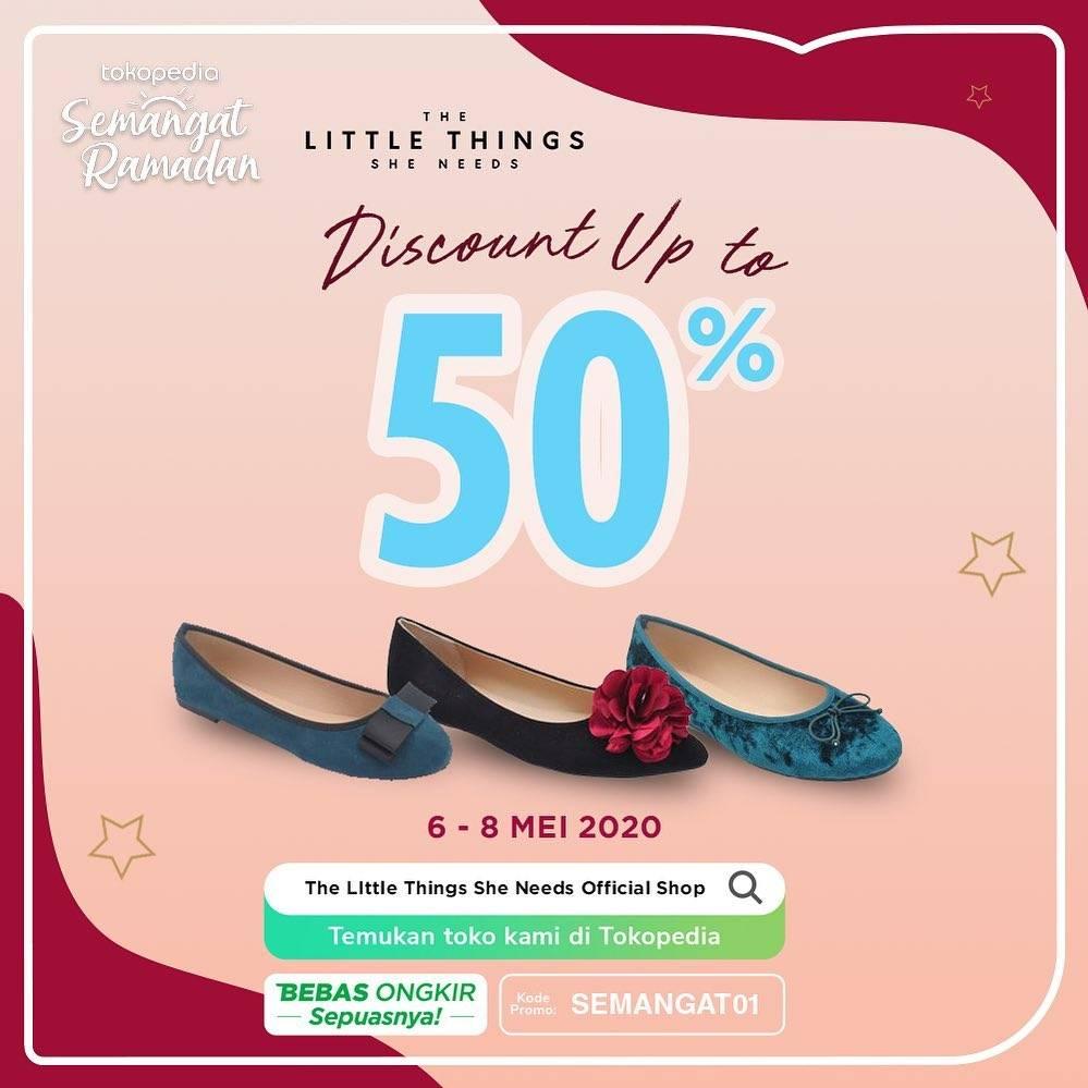 Diskon The Little Things She Needs Promo Diskon Hingga 50% Untuk Sepatu Favorit