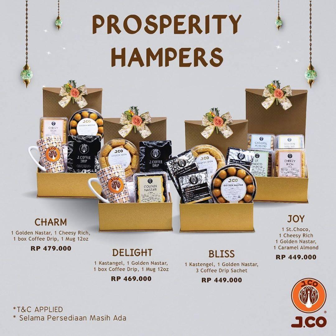 Diskon J.CO Promo Prosperity Hampers Dengan Harga Spesial Mulai Dari Rp. 449.000