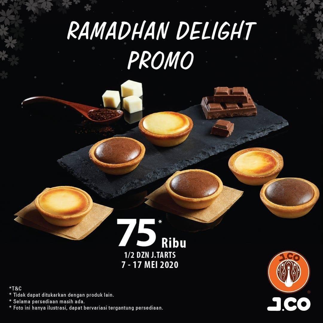 Diskon J.CO Ramadhan Delight Promo 1/2 Lusin J.Tarts Cuma Rp. 75.000