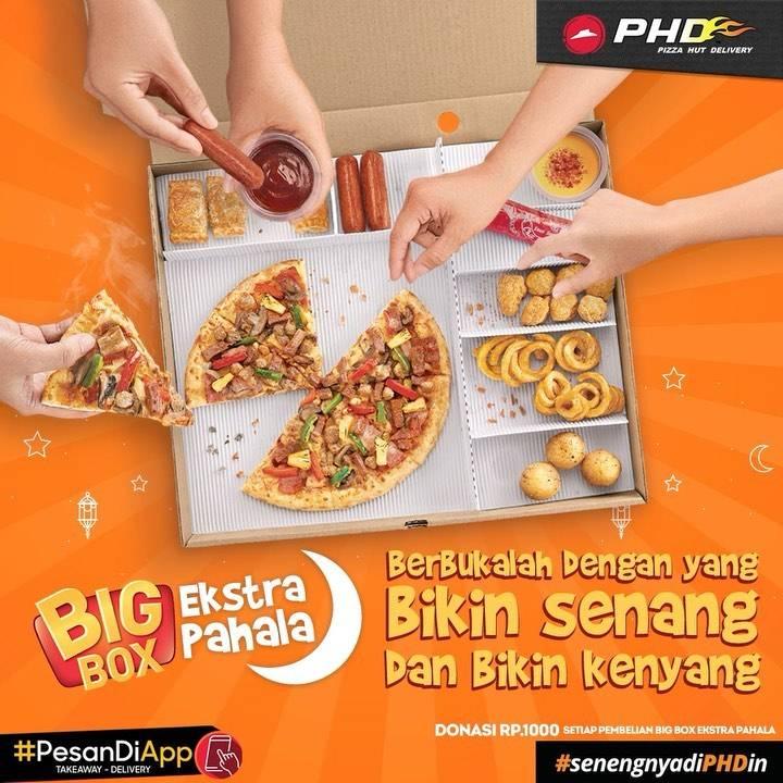 Diskon PHD Promo Big Box Ekstra Pahala, Dapatkan Pasta Hemat + Sumbangkan Donasimu