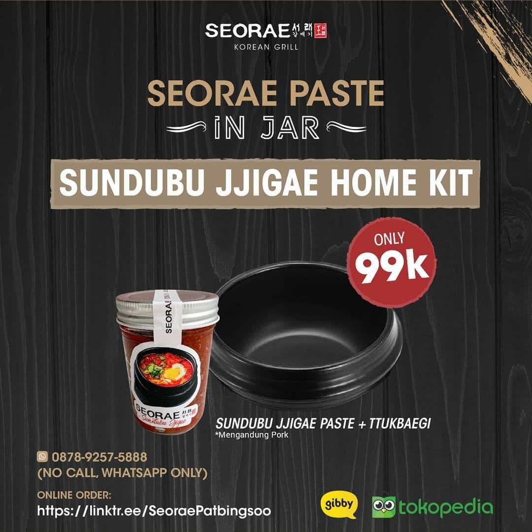 Diskon Seorae Promo Sundubu Jjigae Home Kit Cuma Rp. 99.000