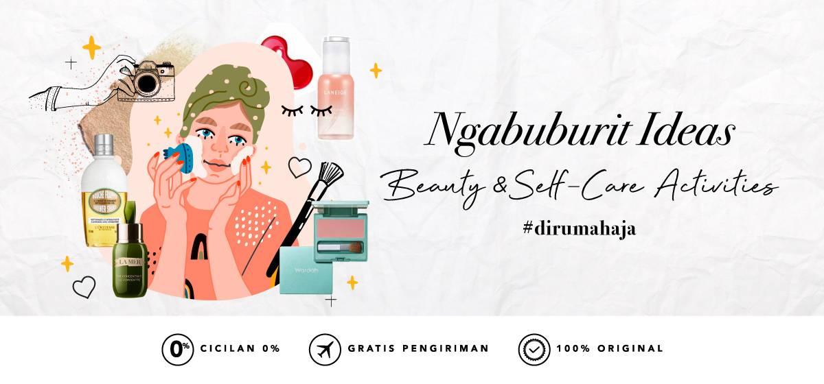 Diskon Blibli.com Promo Ngabuburit Ideas Beauty & Self Care From Home
