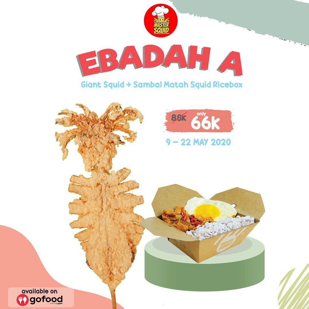 Diskon Master Squid Promo Special Value Ebadah Packages Start From IDR. 60.000