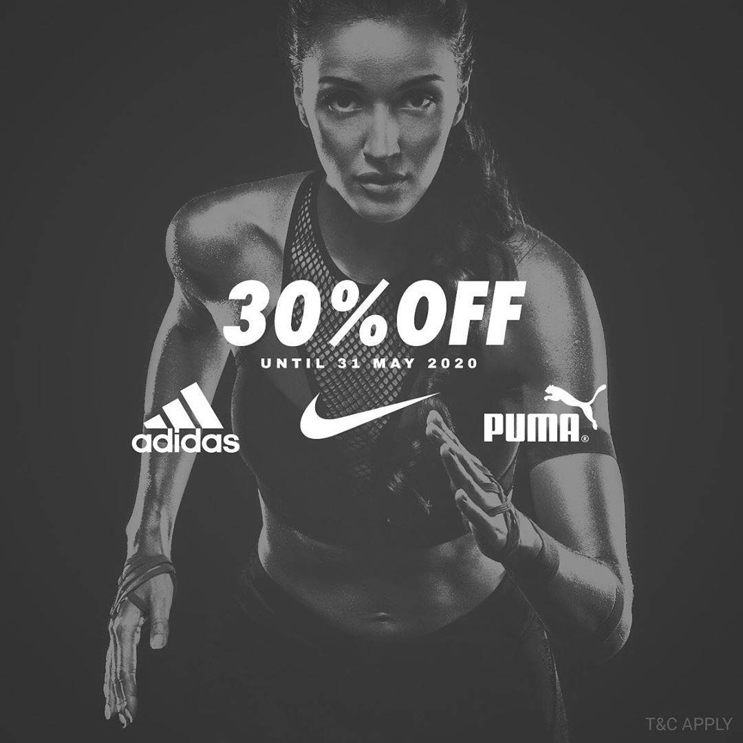 Diskon Planet Sports Promo Discount 30% Off Of Items From Brand Nike, Adidas & Puma