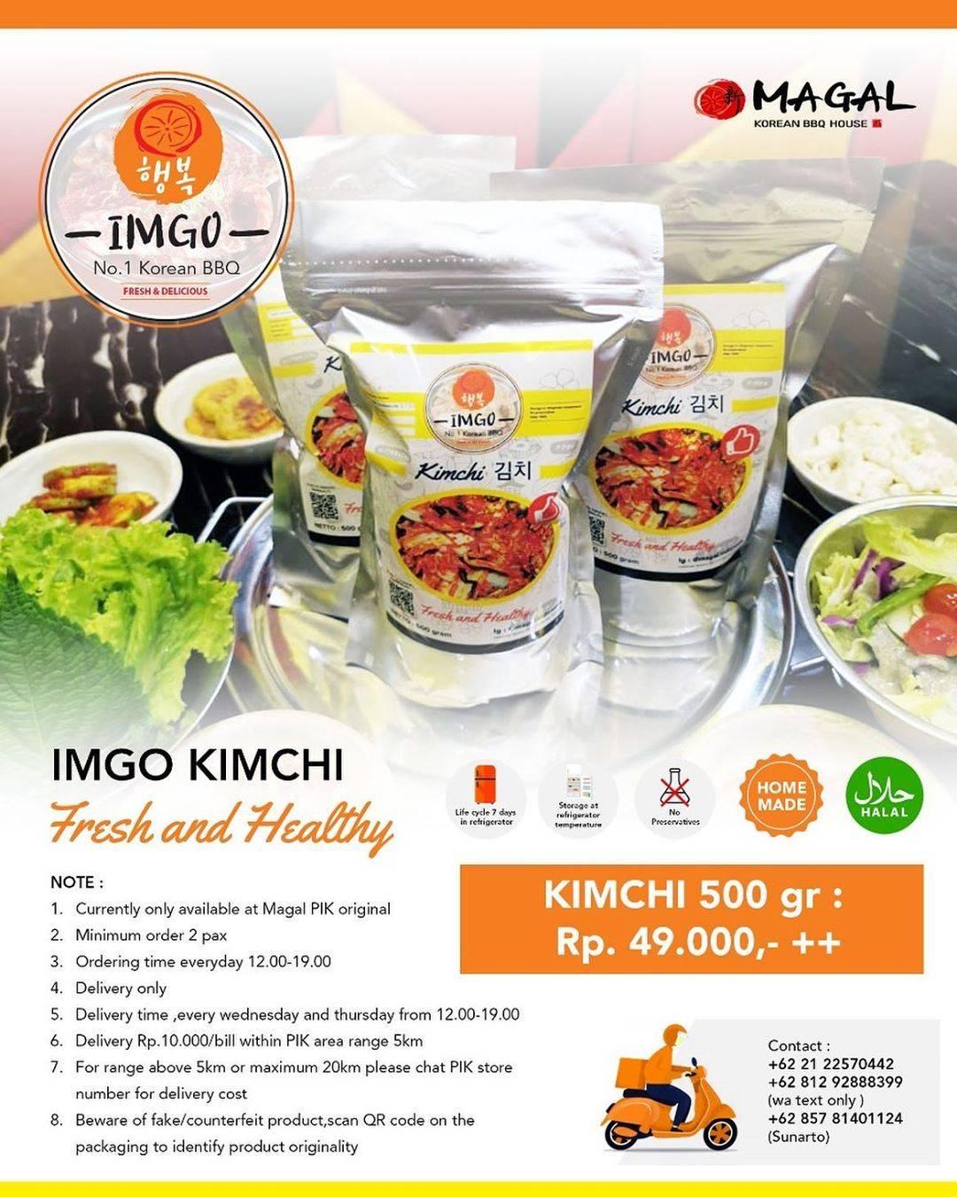 Diskon Magal Promo Imgo Kimchi Cuma Rp. 49.000++