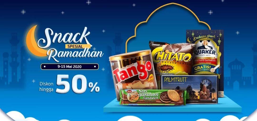 Diskon JD.ID Promo Snack Spesial Ramadhan Dapatkan Diskon Hingga 50%