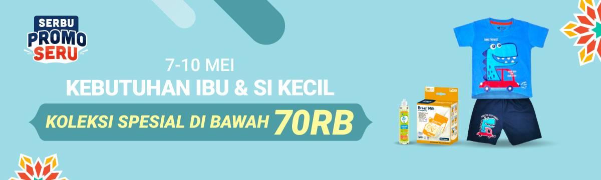 Diskon Shopee Promo Kebutuhan Ibu & Si Kecil Dengan Harga Di Bawah Rp. 70.000